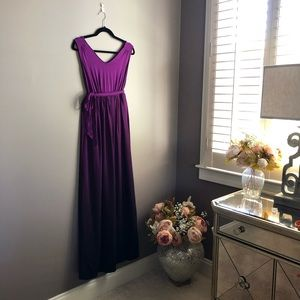 Liz Lange Maternity Maxi Gown